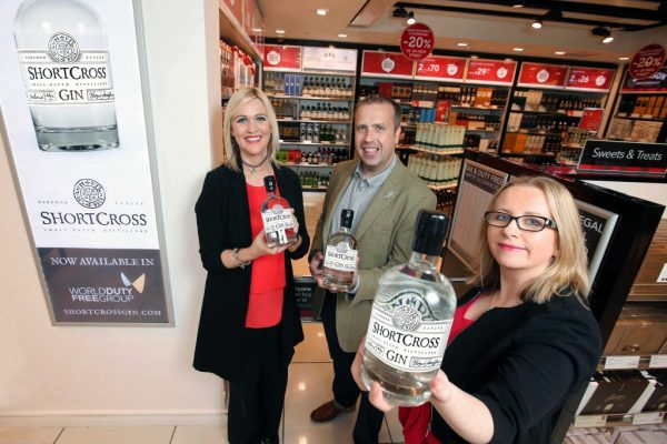 Shortcross Gin is set to soar in world duty free