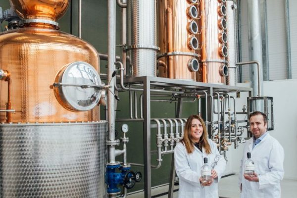 Shortcross Gin Distillery expansion welcomes new copper pot and whiskey still